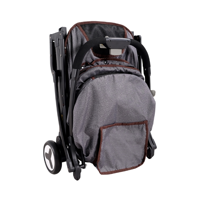 Ibiyaya Speedy Fold Compact Pet Buggy Folded