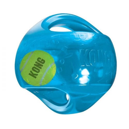 Kong Jumbler Ball Dog Toy Blue
