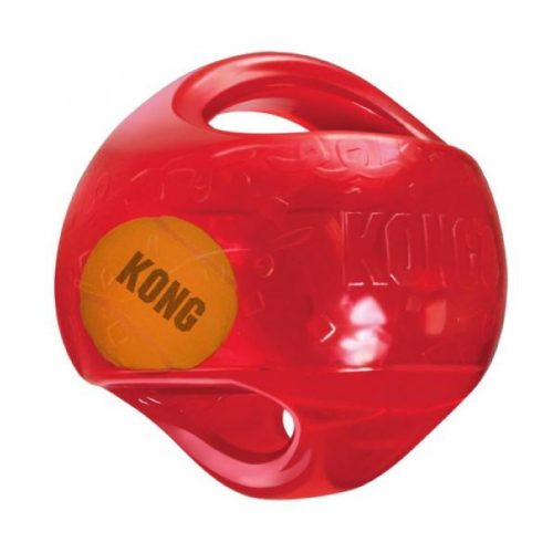 Kong Jumbler Ball Dog Toy Red