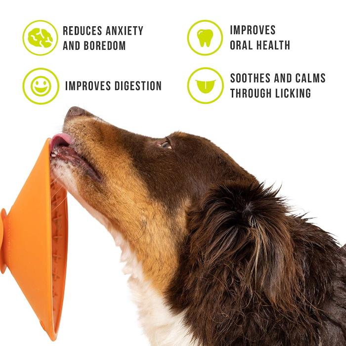 LickiMat Splash For Dogs benefits