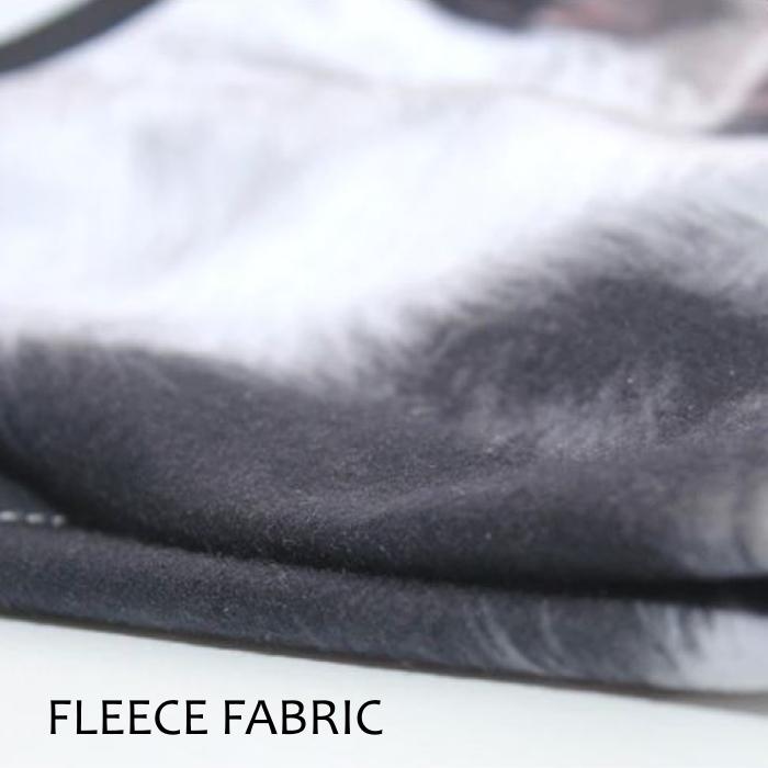 Novelty Animal Face Masks_Fleece Fabric Sample_1