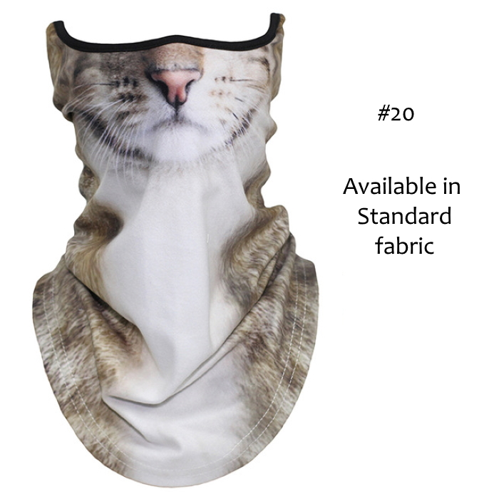 Novelty Cat Face Masks_#20