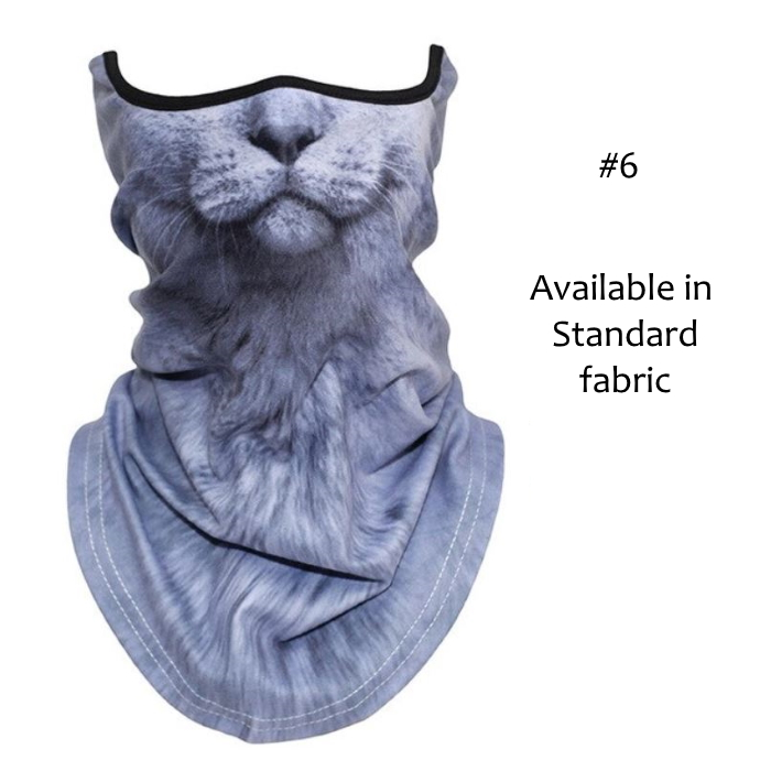 Novelty Cat Face Masks_#6