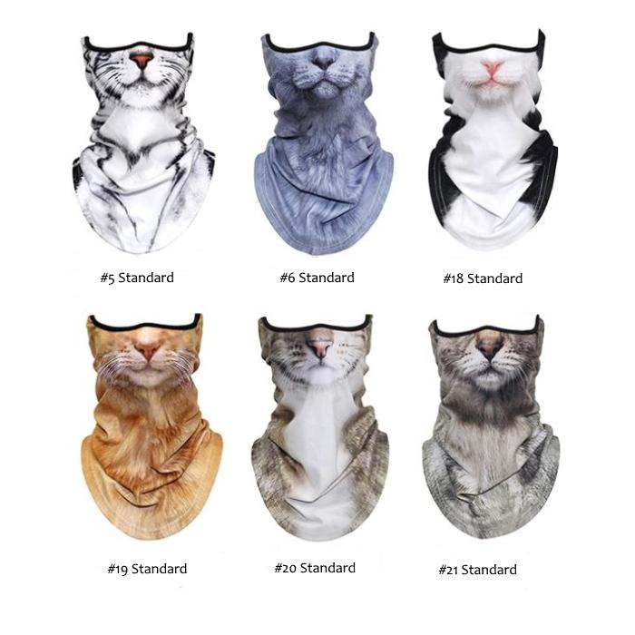 Novelty Cat Face Masks_Range
