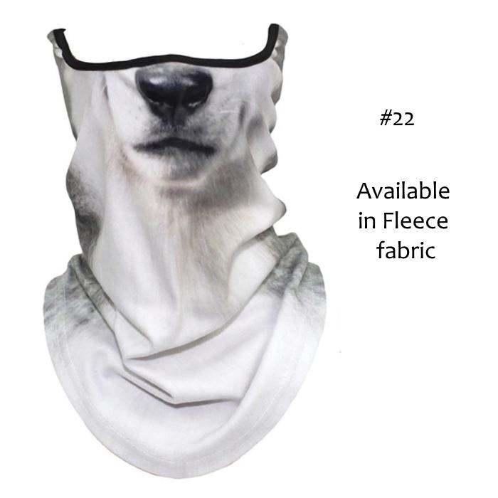 Novelty Dog Face Masks_#22