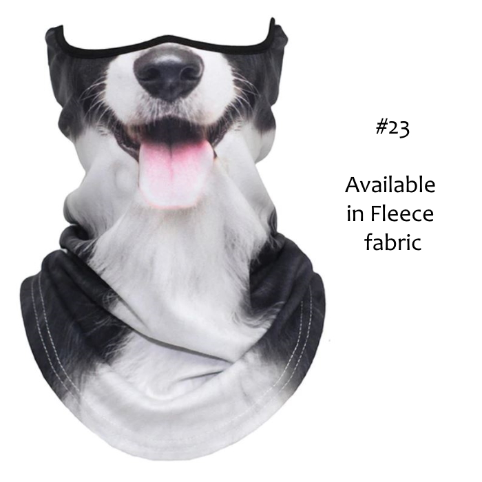 Novelty Dog Face Masks_#23