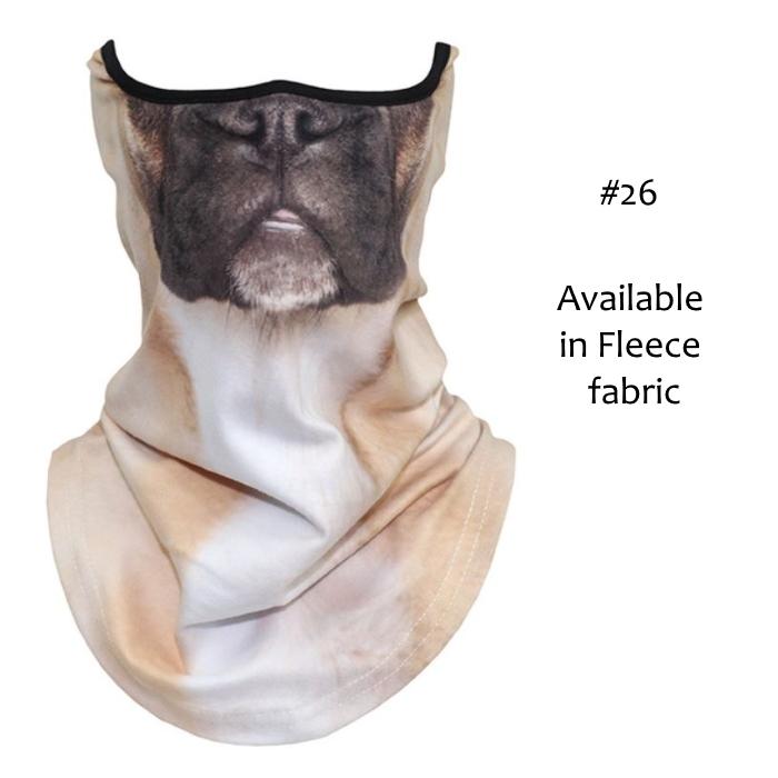 Novelty Dog Face Masks_#26