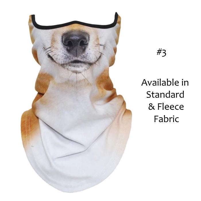 Novelty Dog Face Masks_#3