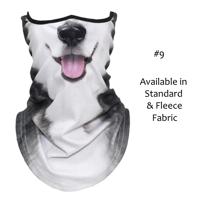 Novelty Dog Face Masks_#9