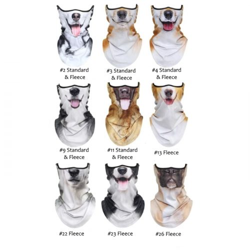 Novelty Dog Face Masks_Range