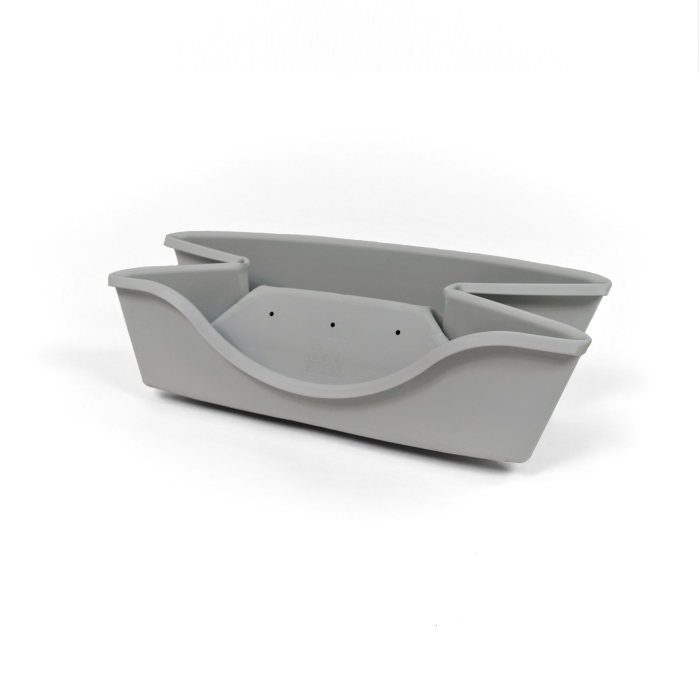Wonderfold Collapsible Dog Bed Light Grey Expand