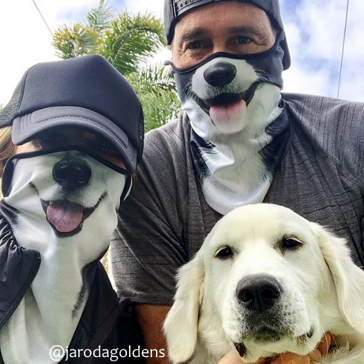 Animal Face Masks Novelty Dog Masks