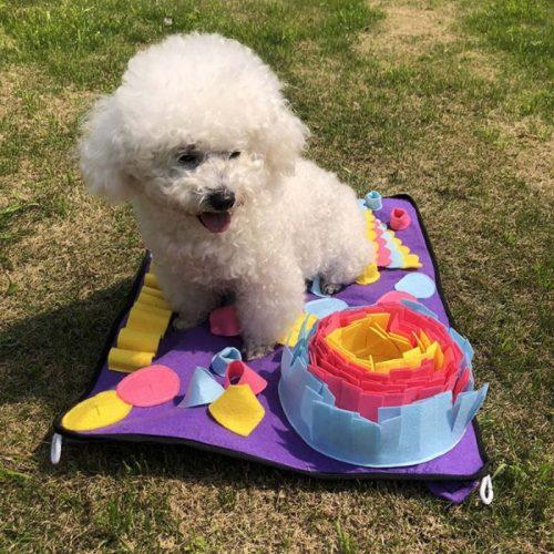 Dog Canine Enrichment Activity Snuffle Puzzle Mat 50x70cm