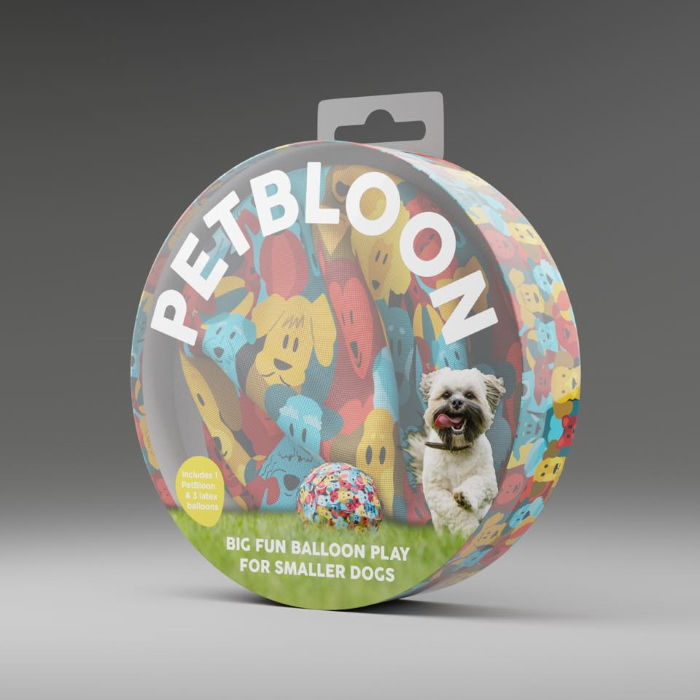 PetBloon Interactive Balloon Dog Toy Packaging front