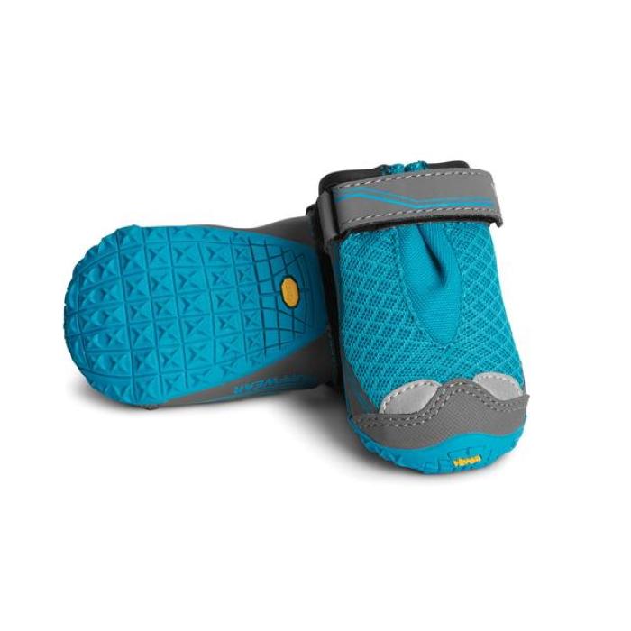 Ruffwear Grip Trex Dog Boots Blue Spring