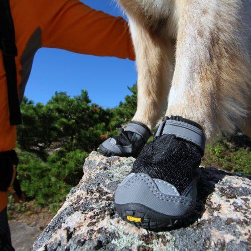 Ruffwear Grip Trex Dog Boots Obsidian Black LS