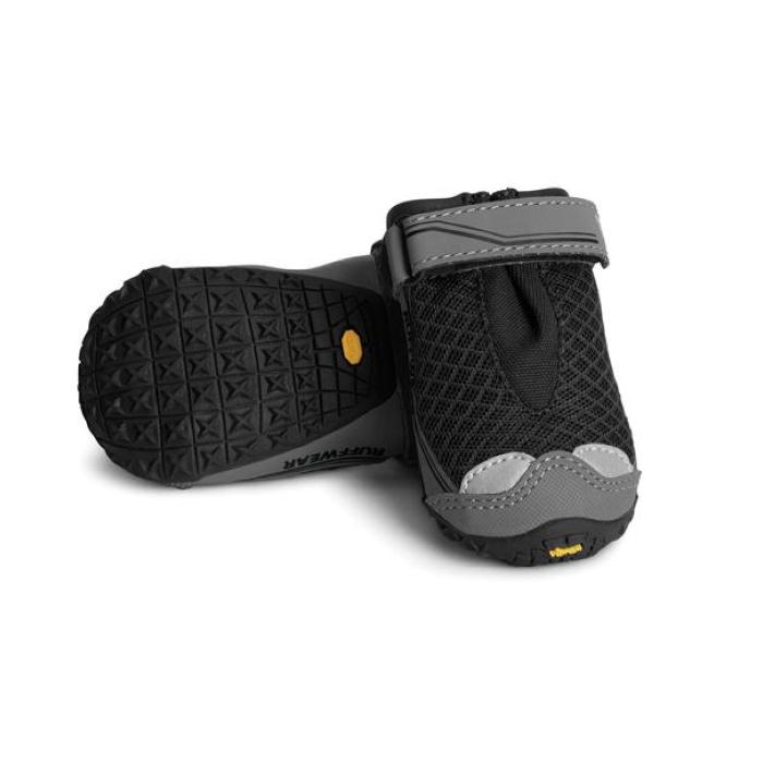Ruffwear Grip Trex Dog Boots Obsidian Black