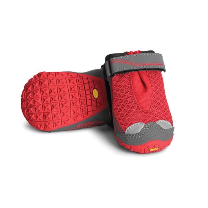Ruffwear Grip Trex Dog Boots Red Currant