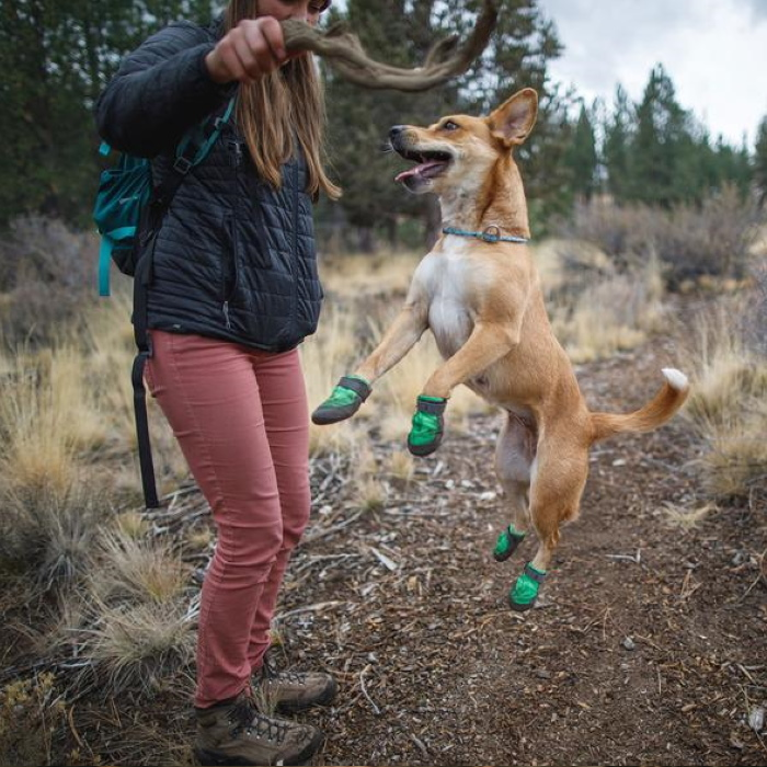 Ruffwear SummitTrex_MeadowGreen_Dog Boots