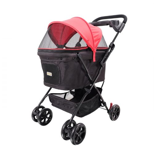 Easy Strolling Dog Pram Red Rouge