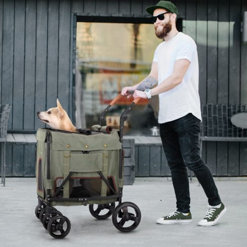 Ibiyaya Gentle Giant Easy-Folding Pet Wagon for Dogs LS2