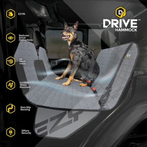 EzyDog_Drive_Hammock_Car Seat Cover_features