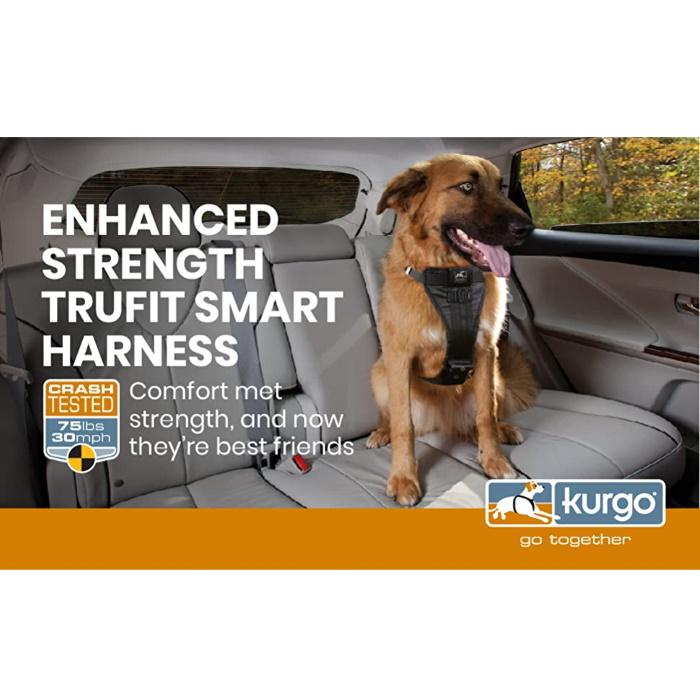 Kurgo Enhanced Strength Tru-Fit Dog Car Harness MKTNG