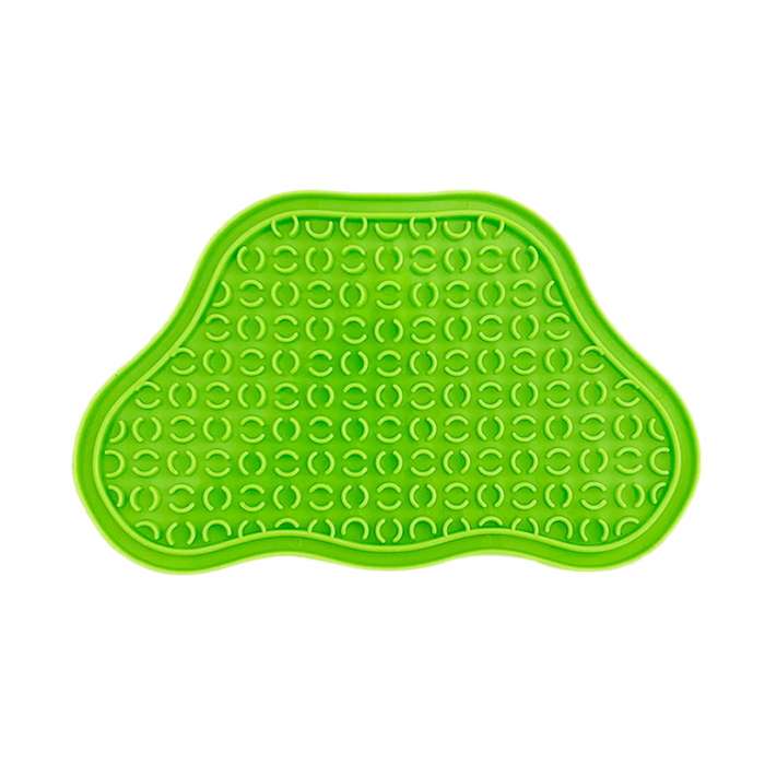 Paw Slow Feeder Lick Pad for cats & dogs Green
