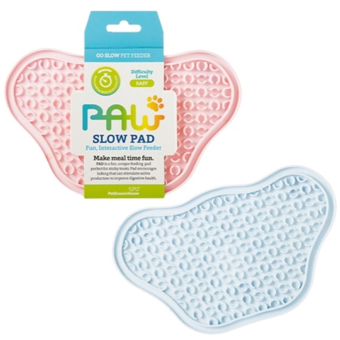 Paw Slow Feeder Lick Pad for cats & dogs