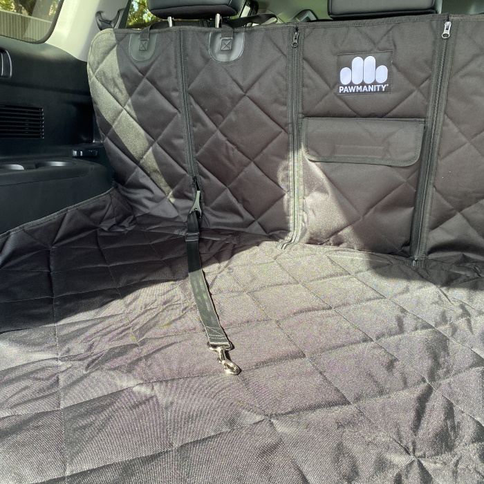 Pawmanity Access Cargo Liner with restraint