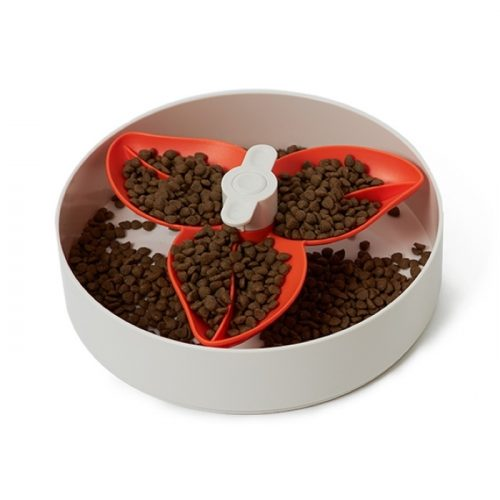 SPIN Slow Feed Bowl for Dogs_FLOWER