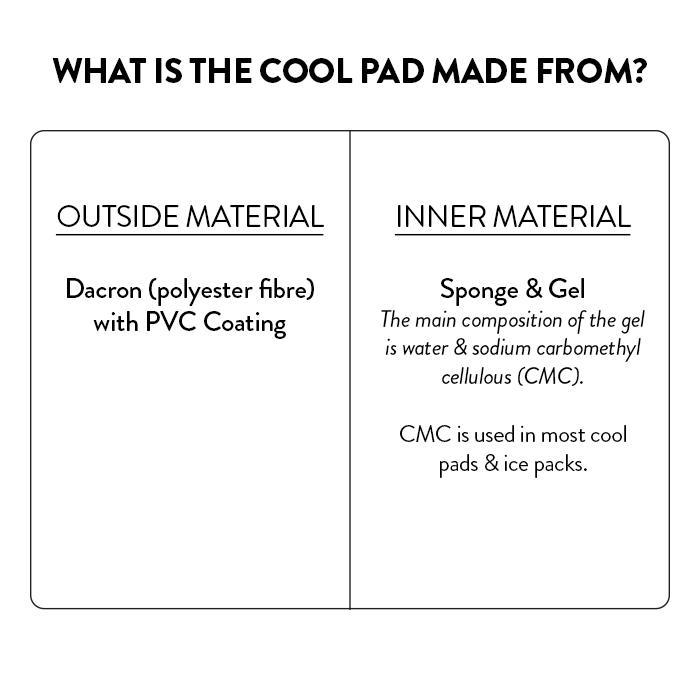 Scream Pet Cooling Mats Materials