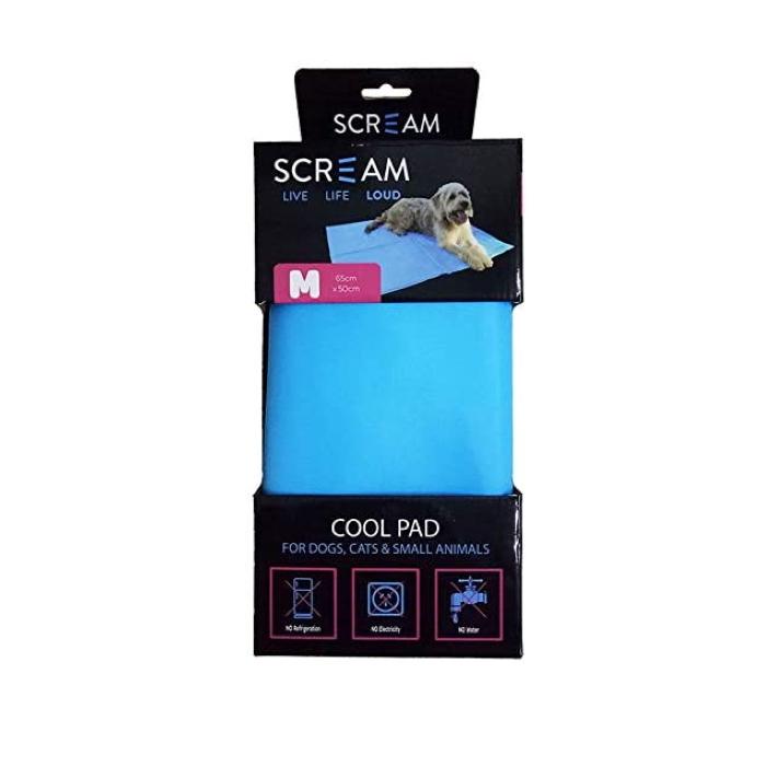 Scream Pet Cooling Mats Medium BLUE 65x50