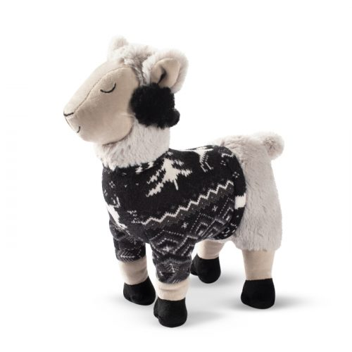 Fringe Studio Christmas Fa La La La Llama Plush Dog Toy