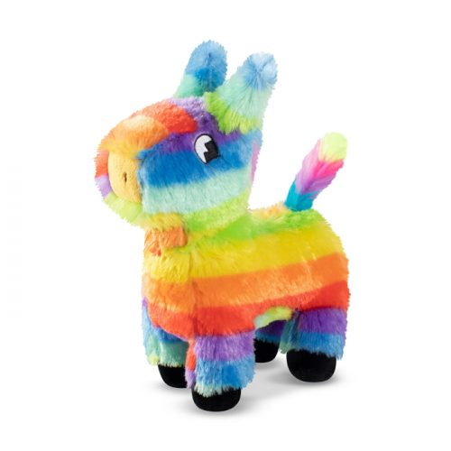 Fringe Studio Rainbow Pinata Party Squeaker Dog Toy