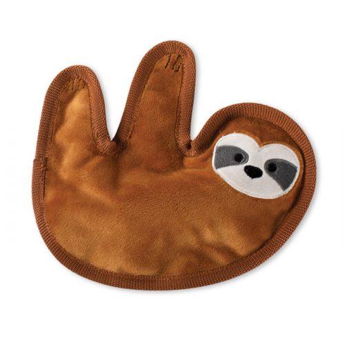 Fringe Studio Sloth Durable Plush Dog Toy