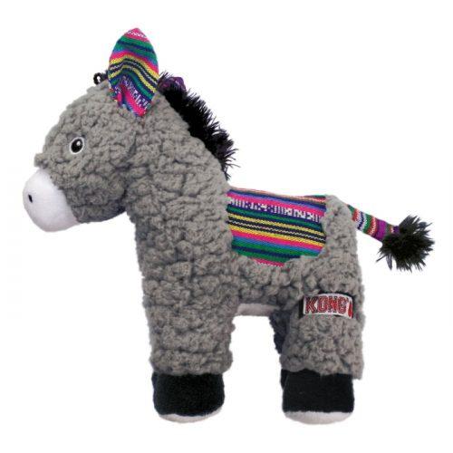 KONG Sherps Donkey Plush Dog Toy