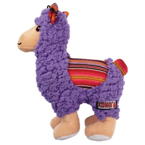 KONG Sherps Plush Dog Toy Llama