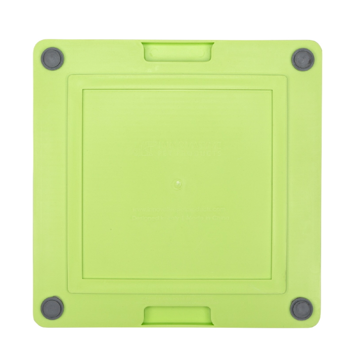 Lickimat Soother Deluxe Tuff Green Back