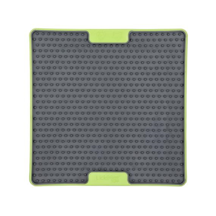 Lickimat Soother Deluxe Tuff Green Front