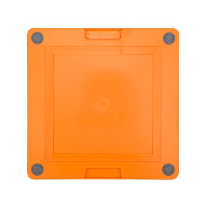Lickimat Soother Deluxe Tuff Orange Back