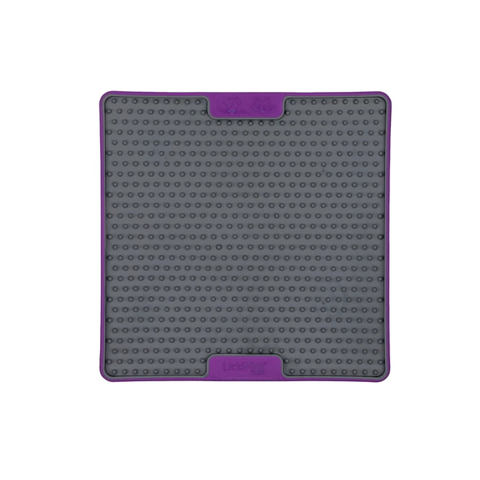 Lickimat Soother Deluxe Tuff Purple