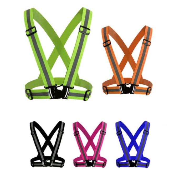 High Visibility Reflective Safety Vest Colour range