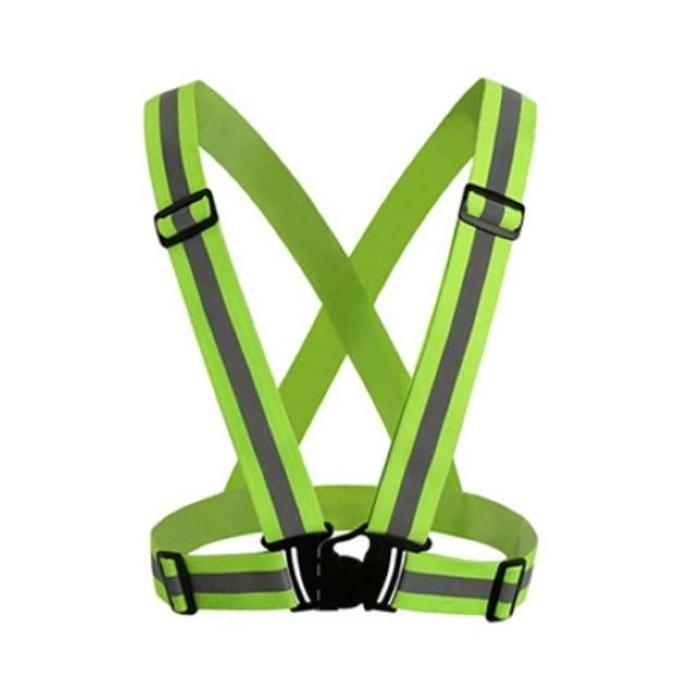 High Visibility Reflective Safety Vest green