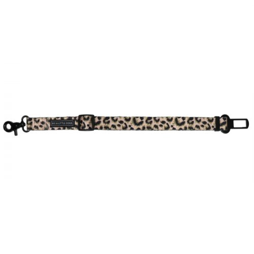 Big and Little Dogs Car Restraint_Luxurious Leopard