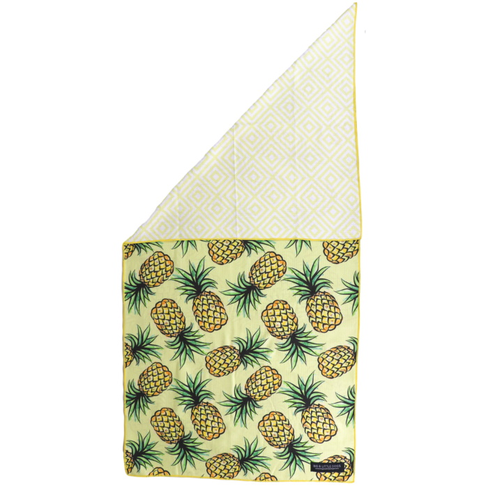 Big and Little Dogs_Beach Towel_Lookin-Pine_Front_Reverse
