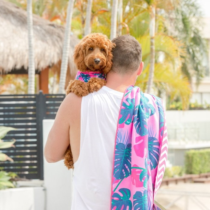 Big and Little Dogs_Beach-Towel_Summer-Lovin-Charli
