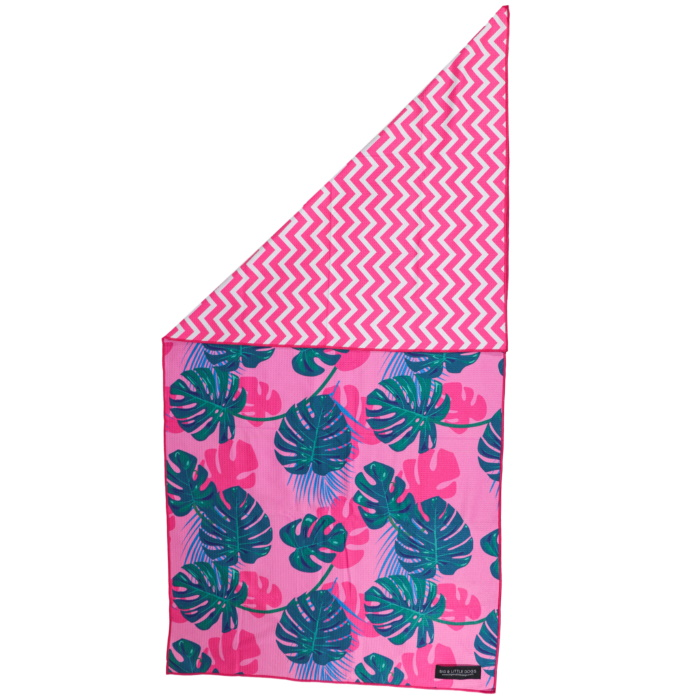 Big and Little Dogs_Beach Towel_Summer Lovin'_Front_Reverse
