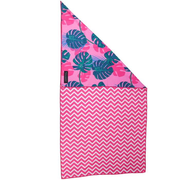 Big and Little Dogs_Beach Towel_Summer Lovin'_Reverse_front