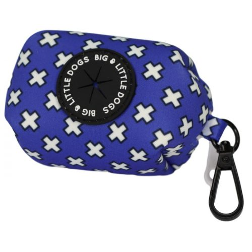 Big and Little Dogs_Poo Bag Holder_Blue Xs